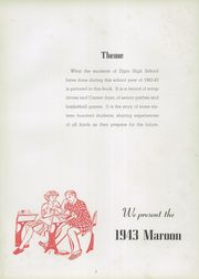 Page 7, 1943 Edition, Elgin High School - Maroon Yearbook (Elgin, IL) online yearbook collection