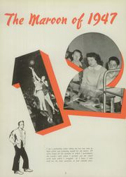 Page 6, 1947 Edition, Elgin High School - Maroon Yearbook (Elgin, IL) online yearbook collection