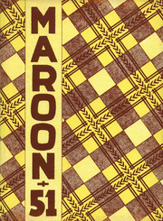1951 Edition, Elgin High School - Maroon Yearbook (Elgin, IL)