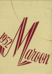 1952 Edition, Elgin High School - Maroon Yearbook (Elgin, IL)