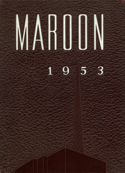 1953 Edition, Elgin High School - Maroon Yearbook (Elgin, IL)
