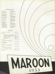 Page 6, 1953 Edition, Elgin High School - Maroon Yearbook (Elgin, IL) online yearbook collection