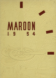 1954 Edition, Elgin High School - Maroon Yearbook (Elgin, IL)