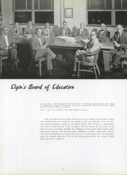Page 14, 1954 Edition, Elgin High School - Maroon Yearbook (Elgin, IL) online yearbook collection
