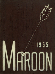 1955 Edition, Elgin High School - Maroon Yearbook (Elgin, IL)