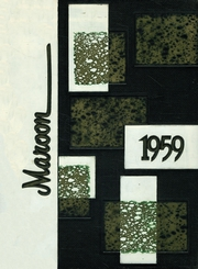 1959 Edition, Elgin High School - Maroon Yearbook (Elgin, IL)