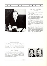 Page 16, 1938 Edition, Lanphier High School - Lan Hi Yearbook (Springfield, IL) online yearbook collection