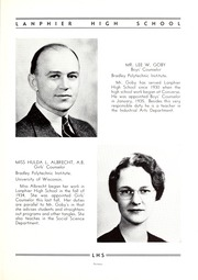Page 17, 1938 Edition, Lanphier High School - Lan Hi Yearbook (Springfield, IL) online yearbook collection