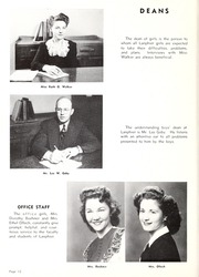 Page 16, 1947 Edition, Lanphier High School - Lan Hi Yearbook (Springfield, IL) online yearbook collection