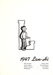 Page 5, 1947 Edition, Lanphier High School - Lan Hi Yearbook (Springfield, IL) online yearbook collection