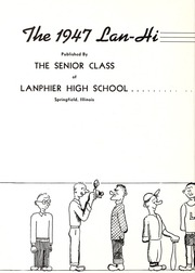 Page 6, 1947 Edition, Lanphier High School - Lan Hi Yearbook (Springfield, IL) online yearbook collection
