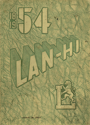 1954 Edition, Lanphier High School - Lan Hi Yearbook (Springfield, IL)