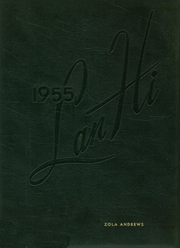 Lanphier High School - Lan Hi Yearbook (Springfield, IL) online yearbook collection, 1955 Edition, Page 1