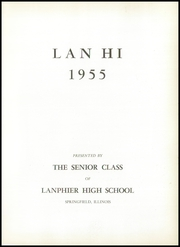 Page 5, 1955 Edition, Lanphier High School - Lan Hi Yearbook (Springfield, IL) online yearbook collection