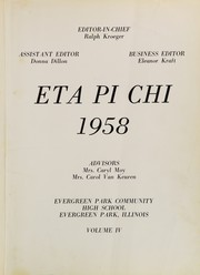 Page 5, 1958 Edition, Evergreen Park High School - Eta Pi Chi Yearbook (Evergreen Park, IL) online yearbook collection