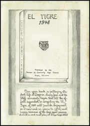 Page 5, 1948 Edition, Dupo Community High School - El Tigre Yearbook (Dupo, IL) online yearbook collection