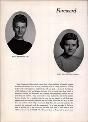 Page 6, 1959 Edition, Dupo Community High School - El Tigre Yearbook (Dupo, IL) online yearbook collection