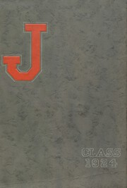 Page 1, 1924 Edition, Jacksonville High School - Crimson J Yearbook (Jacksonville, IL) online yearbook collection