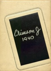 Page 1, 1940 Edition, Jacksonville High School - Crimson J Yearbook (Jacksonville, IL) online yearbook collection