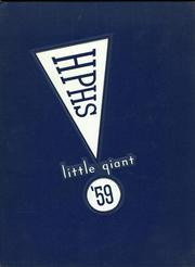 1959 Edition, Highland Park High School - Little Giant Yearbook (Highland Park, IL)