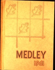 1961 Edition, Danville High School - Medley Yearbook (Danville, IL)