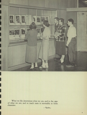Page 9, 1950 Edition, Barrington High School - Corral Yearbook (Barrington, IL) online yearbook collection