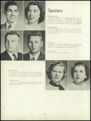 Page 24, 1953 Edition, Barrington High School - Corral Yearbook (Barrington, IL) online yearbook collection