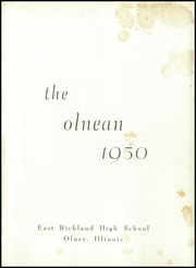 Page 5, 1950 Edition, East Richland High School - Olnean Yearbook (Olney, IL) online yearbook collection