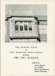 Page 5, 1951 Edition, East Richland High School - Olnean Yearbook (Olney, IL) online yearbook collection