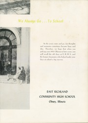 Page 7, 1951 Edition, East Richland High School - Olnean Yearbook (Olney, IL) online yearbook collection