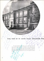 Page 8, 1950 Edition, Edwardsville High School - Tiger Yearbook (Edwardsville, IL) online yearbook collection