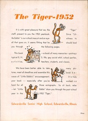 Page 7, 1952 Edition, Edwardsville High School - Tiger Yearbook (Edwardsville, IL) online yearbook collection