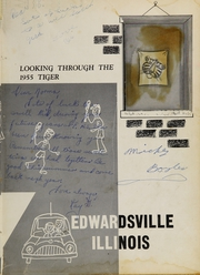 Page 7, 1955 Edition, Edwardsville High School - Tiger Yearbook (Edwardsville, IL) online yearbook collection