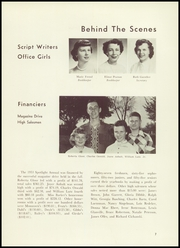 Page 9, 1953 Edition, Palatine High School - Spotlight Yearbook (Palatine, IL) online yearbook collection