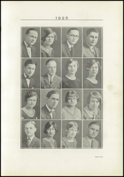 Page 13, 1925 Edition, Paris High School - Arena Yearbook (Paris, IL) online yearbook collection