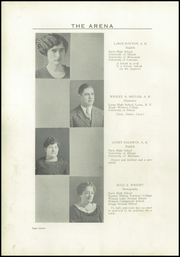 Page 16, 1925 Edition, Paris High School - Arena Yearbook (Paris, IL) online yearbook collection