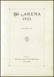 Page 7, 1925 Edition, Paris High School - Arena Yearbook (Paris, IL) online yearbook collection
