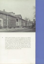 Page 11, 1938 Edition, Paris High School - Arena Yearbook (Paris, IL) online yearbook collection