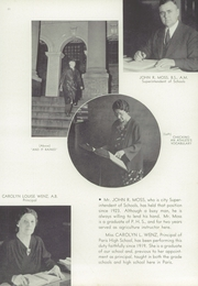 Page 15, 1938 Edition, Paris High School - Arena Yearbook (Paris, IL) online yearbook collection