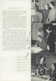 Page 17, 1938 Edition, Paris High School - Arena Yearbook (Paris, IL) online yearbook collection