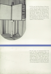 Page 8, 1938 Edition, Paris High School - Arena Yearbook (Paris, IL) online yearbook collection