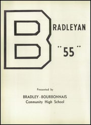 Page 6, 1955 Edition, Bradley Bourbonnais Community High School - Bradleyan Yearbook (Bradley, IL) online yearbook collection