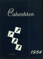 1954 Edition, Cahokia High School - Cahochron Yearbook (Cahokia, IL)