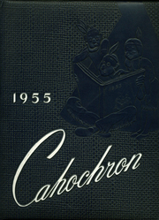 1955 Edition, Cahokia High School - Cahochron Yearbook (Cahokia, IL)