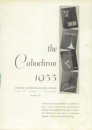Page 5, 1955 Edition, Cahokia High School - Cahochron Yearbook (Cahokia, IL) online yearbook collection