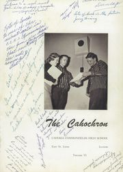 Page 5, 1957 Edition, Cahokia High School - Cahochron Yearbook (Cahokia, IL) online yearbook collection