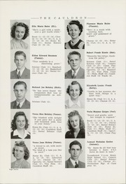 Page 16, 1942 Edition, Morton High School - Cauldron Yearbook (Morton, IL) online yearbook collection