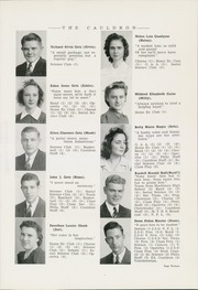 Page 17, 1942 Edition, Morton High School - Cauldron Yearbook (Morton, IL) online yearbook collection