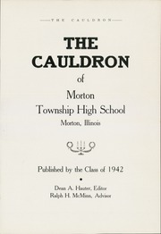 Page 5, 1942 Edition, Morton High School - Cauldron Yearbook (Morton, IL) online yearbook collection