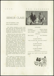 Page 15, 1948 Edition, Morton High School - Cauldron Yearbook (Morton, IL) online yearbook collection